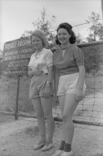 Young Women 1940's Missouri